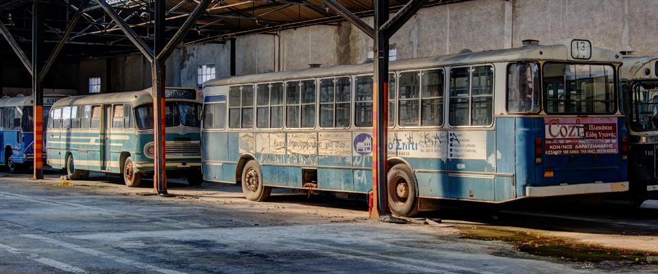 A trip to memory lane: Τα λεωφορεία του ομίλου έρευνας των συγκοινωνιών